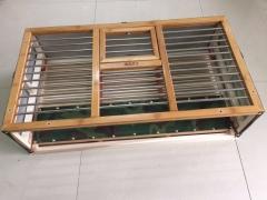 竹面钢管驯放笼,放飞笼 长70宽39高23