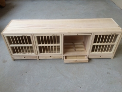 赛鸽箱上翻门调节箱实木赛鸽箱按门个数计算价格 60长x38高x30则深cm=2个门