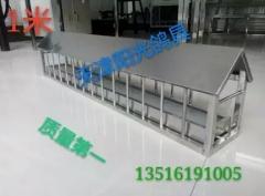 不锈钢食槽,料槽,保健砂食盒规格100-14-23公分,抽拉款