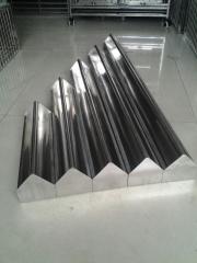 赛鸽用品,鸽药,鸽具,鸽笼大全,不锈钢半圆食槽规格60公分长